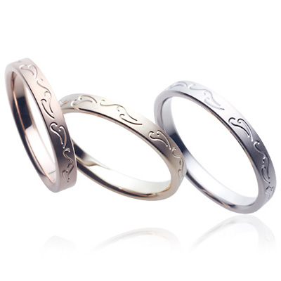 sarasa 更紗 マリッジリング (結婚指輪) SRー213ーSRー212ーSRー211 エクセルワールド プレゼントにも