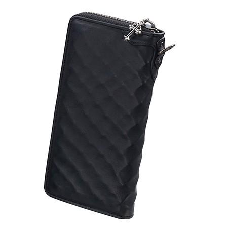 bizarre ビザール 財布 ワイヤーモデル牛革ロングウォレット ブラック LWG029BK エクセルワールド プレゼントにも