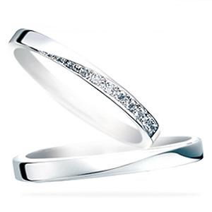 サムシングブルー セントピュール マリッジリング (結婚指輪) Stardust