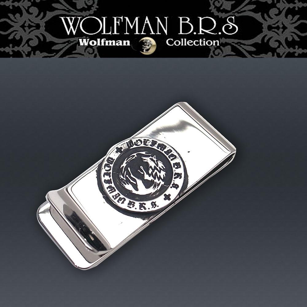 ウルフマン BRS WOLFMAN B.R.S ウルフマン マネークリップ woーmcー10【送料無料でお届け】 エクセルワールド ブランド プレゼントにも TP