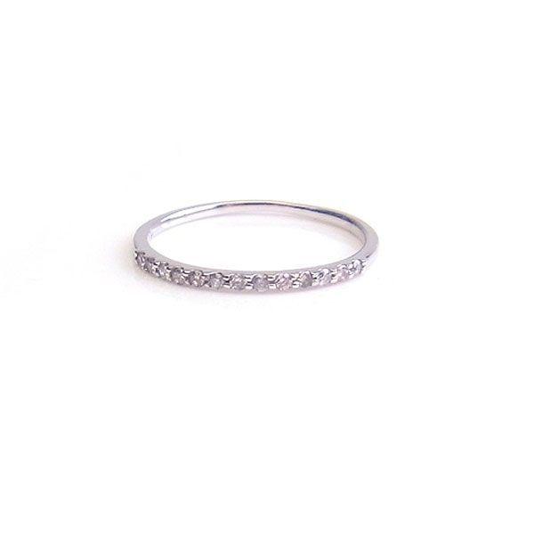 K10 WG リング ダイヤモンド 0.10ct 1287506 エクセルワールド プレゼントにも おしゃれ アクセサリー