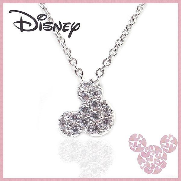 いつもミッキーと一緒 ディズニー Disney ミッキーマウス シルバー ネックレス VPCDS20005 エクセルワールド プレゼントにも おしゃれ アクセサリー ディズニーグッズ TP