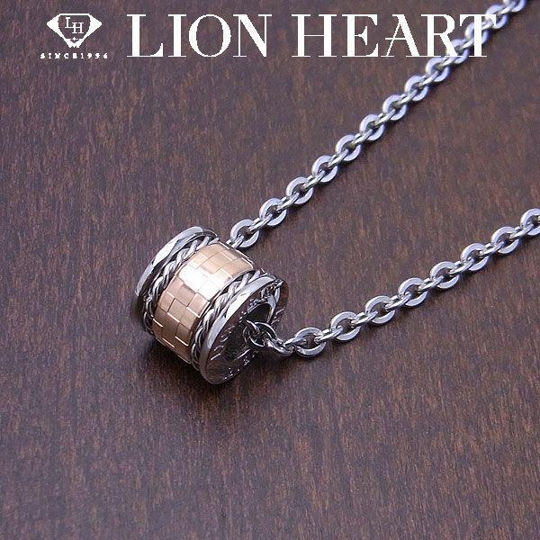 LION HEART ライオンハート ネックレス ステンレスライン レディース ピンク 特別ポイントアップ商品 エクセルワールド ブランド プレゼントにも おしゃれ アクセサリー