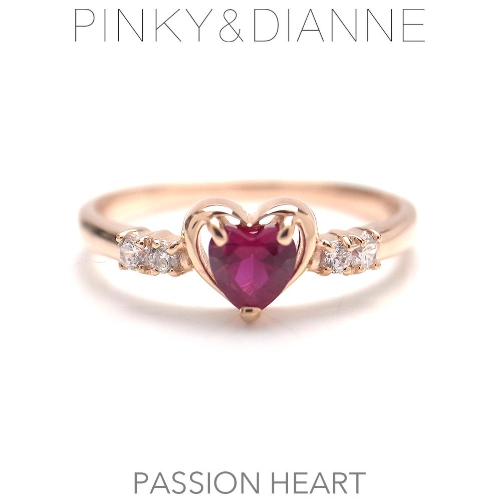 ピンキー&ダイアン リング Pinky&Dianne 50390 シルバー925 Passion Heart パッションハート エクセルワールド ブランド プレゼントにも おしゃれ アクセサリー TP1