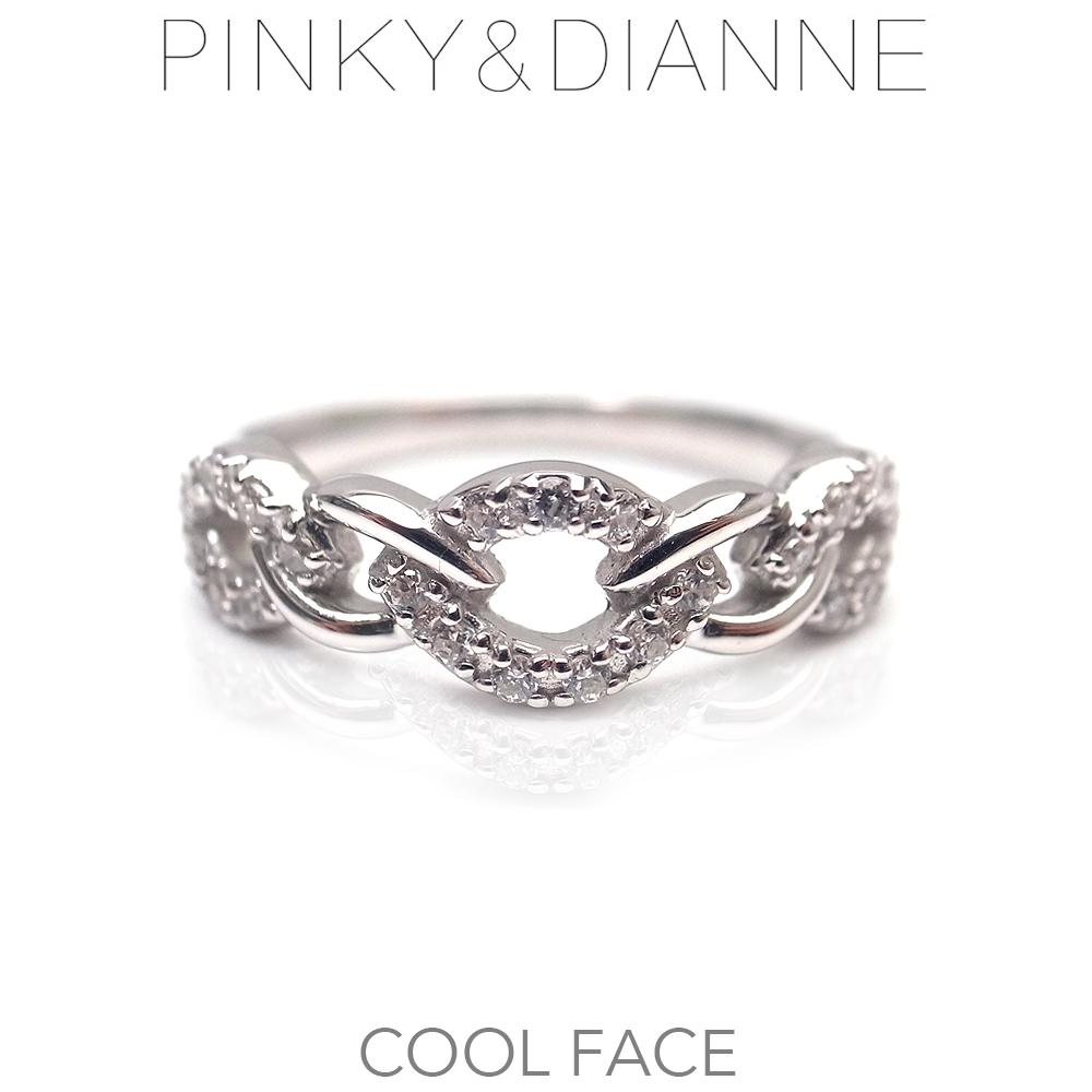 ピンキー&ダイアン リング Pinky&Dianne シルバー 52208 Cool Face クールフェイス エクセルワールド ブランド プレゼントにも おしゃれ アクセサリー TP1