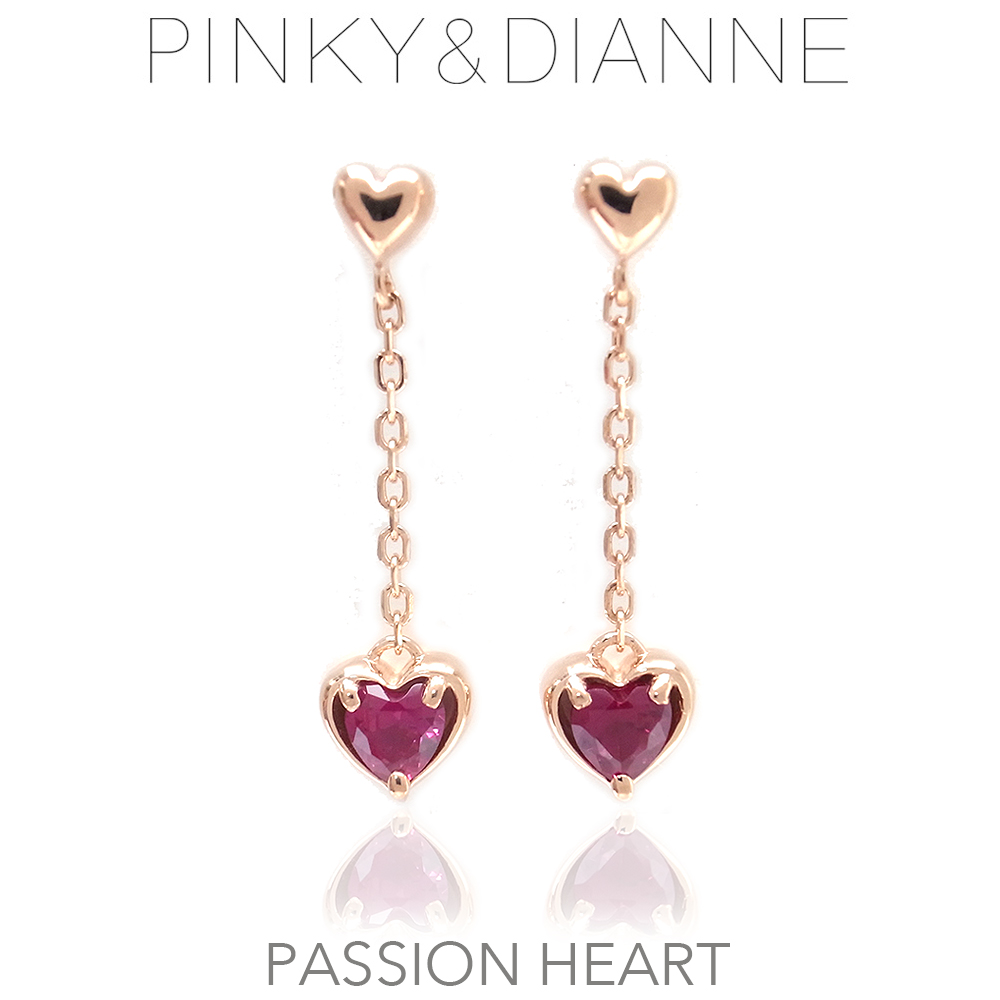 ピンキー&ダイアン ピアス Pinky&Dianne シルバー925 52206 Passion Heart パッションハート 決算セール&ホワイトデーおすすめ商品