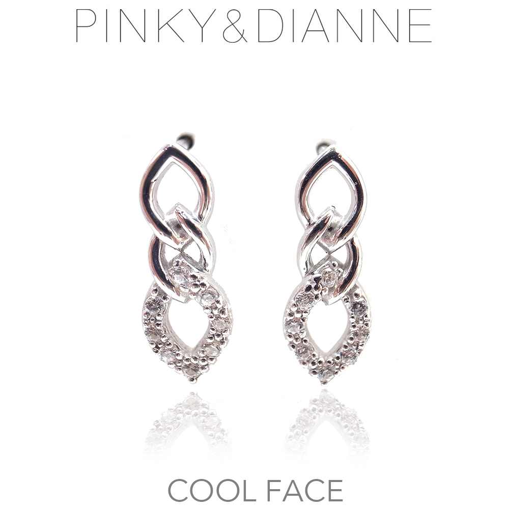 ピンキー&ダイアン ピアス Pinky&Dianne シルバー925 52207 Cool Face クールフェイス エクセルワールド ブランド プレゼントにも おしゃれ アクセサリー TP1