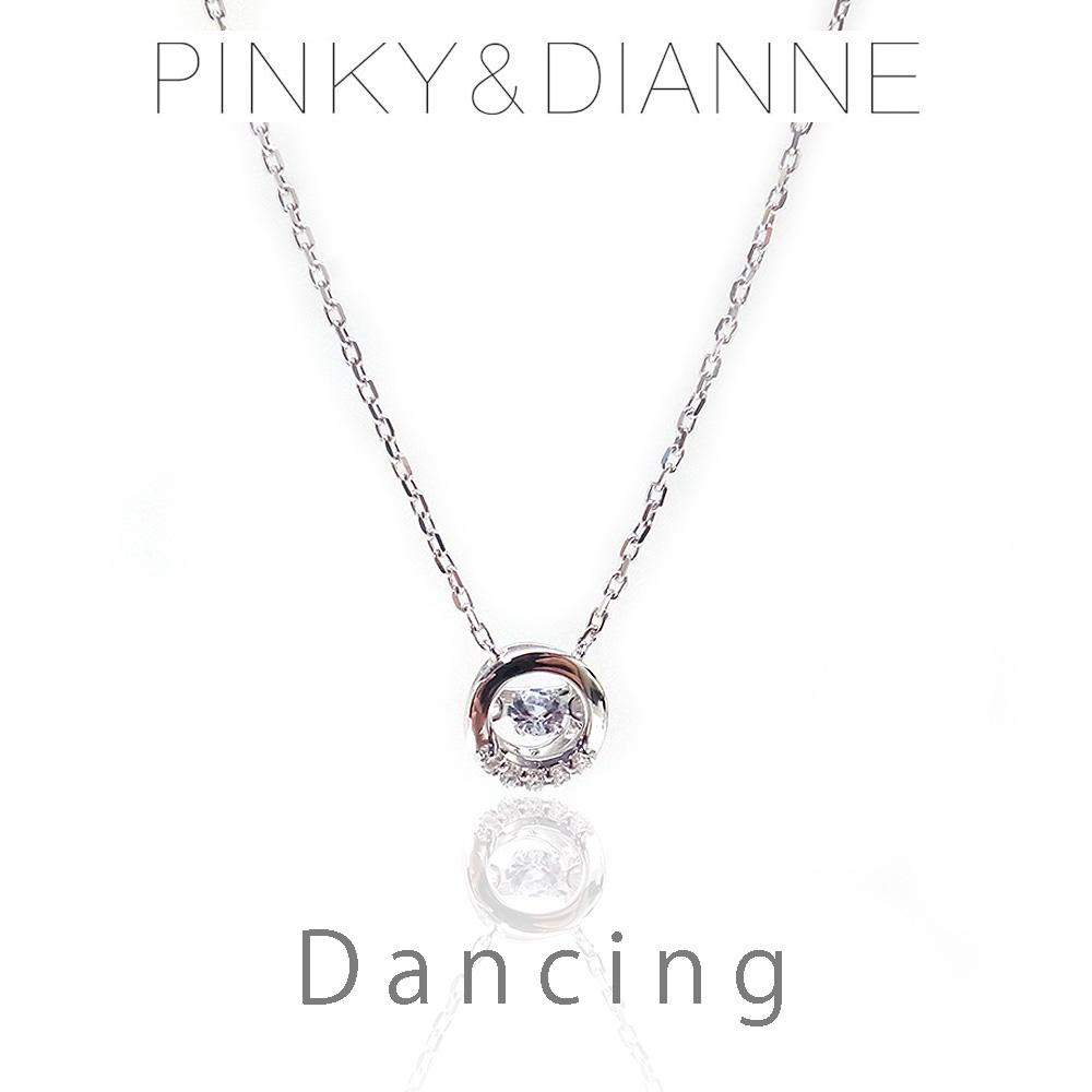 ピンキー&ダイアン ネックレス VPCPD 51609 Pinky&Dianne Dancing ダンシング シルバー925 ロジウムコーティング CZ エクセルワールド ブランド プレゼントにも おしゃれ アクセサリー TP1