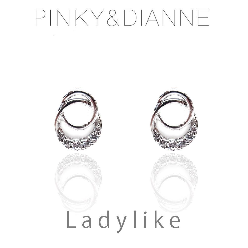 ピンキー&ダイアン ピアス VPRPD 52218 Pinky&Dianne LadyLike レディライク サークル シルバー925 ロジウムコーティング CZ 決算セール&ホワイトデーおすすめ商品