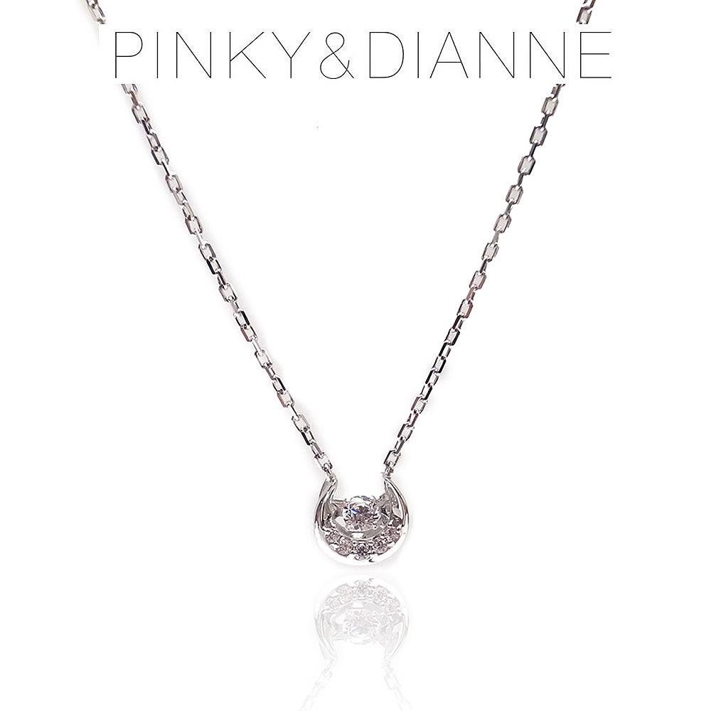 Pinky&Dianne ピンキー&ダイアン ネックレス VPCPD51588 SV ロジウム コーティング キュービック ジルコニア エクセルワールド ブランド プレゼントにも おしゃれ アクセサリー TP1