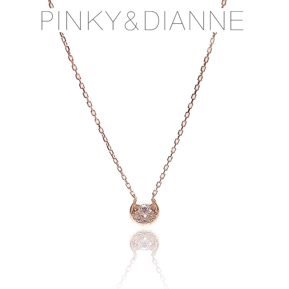 Pinky&Dianne ピンキー&ダイアン ネックレス VPCPD51589 SV ピンクゴールド コーティング キュービック ジルコニア エクセルワールド ブランド プレゼントにも おしゃれ アクセサリー TP1