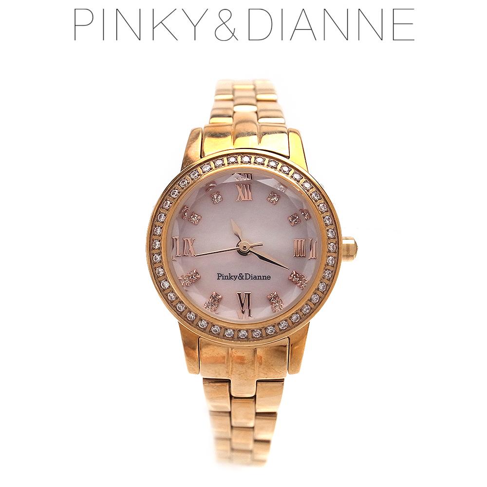 ピンキー&ダイアン 時計 レディース Pinky&Dianne PD101PPK ソーラーウォッチ 特別ポイントアップ商品 エクセルワールド ブランド プレゼントにも