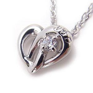 ピンキー&ダイアン ネックレス Pinky&Dianne 51371 シルバー Endless Heart エンドレスハート エクセルワールド ブランド プレゼントにも おしゃれ アクセサリー TP1