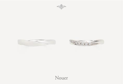 OCTAVE オクタブ マリッジリング (結婚指輪) Nouer 結び エクセルワールド プレゼントにも