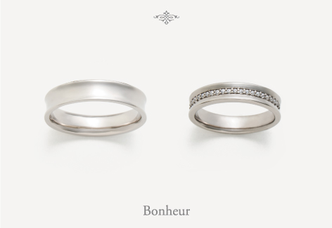 OCTAVE オクタブ マリッジリング (結婚指輪) Bonheur 幸福 エクセルワールド プレゼントにも