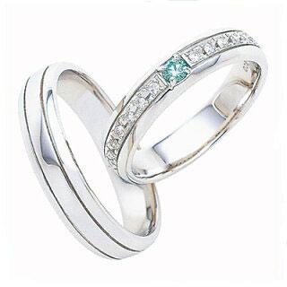 スウィートブルーダイヤモンド SWEET BLUE DIAMOND マリッジリング (結婚指輪) 1239036ー1239039 エクセルワールド プレゼントにも