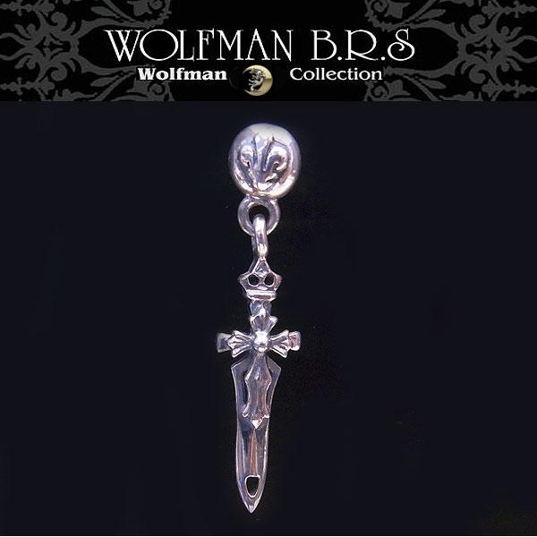 ウルフマン BRS WOLFMAN B.R.S ピアス ブレードティアドロップ WO-E-12 【送料無料でお届け】 エクセルワールド ブランド プレゼントにも おしゃれ アクセサリー TP