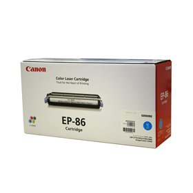 【メーカー純正】新品 CANON EP-86 シアン 純正品 CRG-EP86CYN LBP5800/LBP5700/LBP-2710/LBP-2810 ep-86 純正トナー  0113_flash