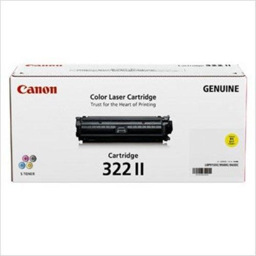 【メーカー純正】CANON トナーカートリッジ322IIイエロー 2647B001 CRG-322IIYEL LBP9600C/LBP9500C/LBP9200C/LBP9100