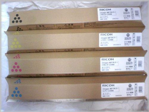 【メーカー純正】新品 RICOH リコー imagio MP C3300/C2800 トナー 国内純正品 4色セット  0113_flash