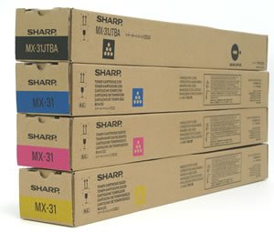 【メーカー純正】新品 SHARP シャープ MX-31JTBA/MA/YA/CA 4色セット 国内純正トナー MX-2301FN/MX-2600/MX-2600FN/MX-2600FG/MX-3100/MX-3100FG/MX-3100FN  0113_flash