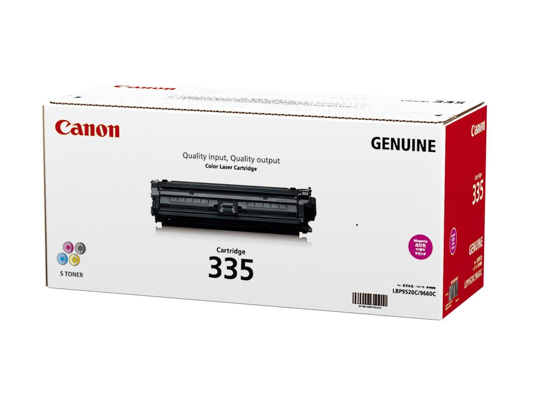 【メーカー純正】新品 CANON キヤノン トナーカートリッジ335M CRG-335MAG 8671B001 マゼンタ /LBP9660Ci LBP9520C  0113_flash