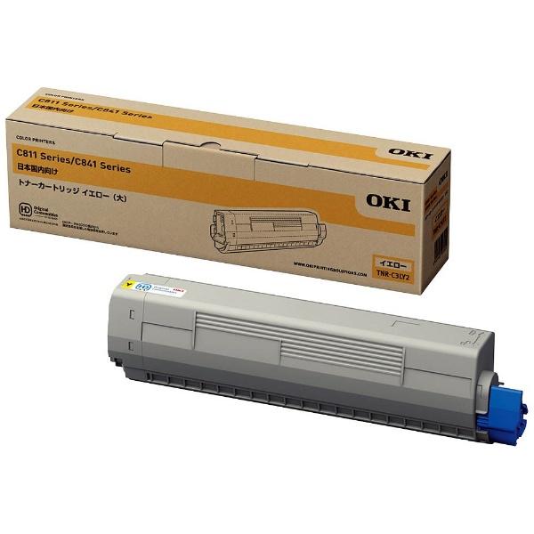 【メーカー純正】新品 OKI 沖データ トナーカートリッジ(大) イエロー TNR-C3LY2 /MC863dnw MC863dnwv MC883dnw MC883dnwv C811dn C811dn-T C841dn 0113_flash