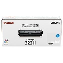 【メーカー純正】CANON キヤノン トナーカートリッジ322II CRG-322IICYN(2651B001) シアン LBP9650Ci LBP9600C LBP9510C LBP9500C LBP9200C LBP9100C