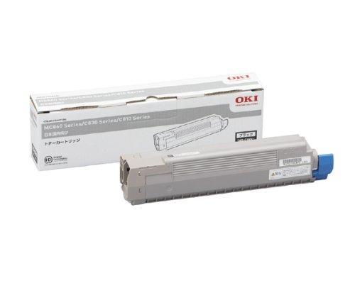 【メーカー純正】新品 OKI 沖データ トナーカートリッジ TNR-C3KK1 ブラック /C810dn C810dn-T C830dn MC860dtn MC860dn 0113_flash