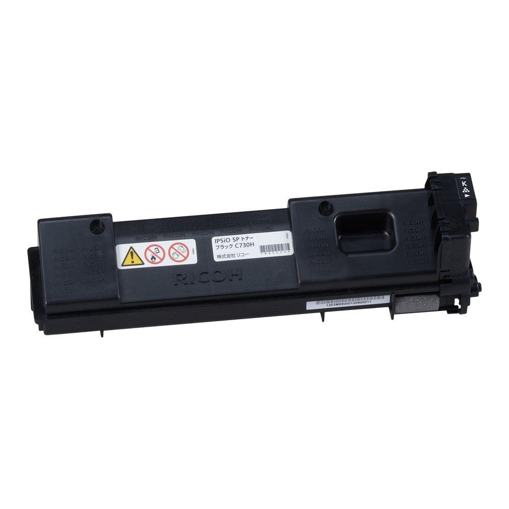 【メーカー純正】新品 RICOH リコー IPSiO SP トナー C730H 600528 ブラック /IPSiO SP C730,IPSiO SP C731.IPSiO SP C730L 0113_flash