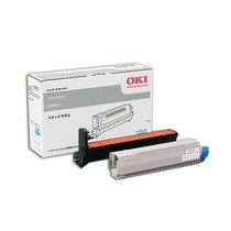 【メーカー純正】 新品 OKI 沖データ イメージドラム ID-C3EC シアン トナーカートリッジ付属/C8600dn C8650dn C8800dn 0113_flash
