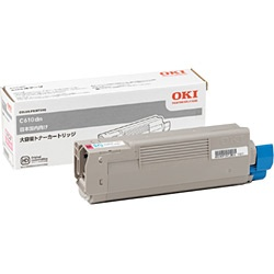 【送料無料】メーカー純正 新品 OKI 沖データ 大容量トナーカートリッジ TNR-C4FM2 マゼンタ /C610dn 0113_flash