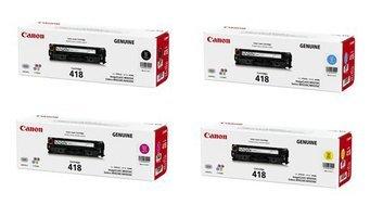 【送料無料】メーカー純正 新品 Canon キヤノン トナーカートリッジ418 CRG-418 4色セット (ブラック マゼンタ イエロー シアン)/ MF8350Cdn MF8570Cdw MF726Cdw 0113_flash