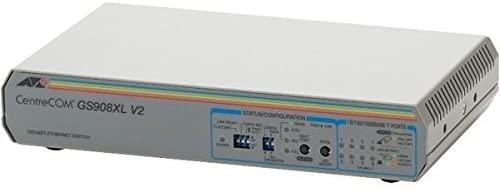 (メーカー純正)新品 アライドテレシス ギガビットイーサネット・スイッチ CentreCOM GS908XL V2 0795R(送料無料)