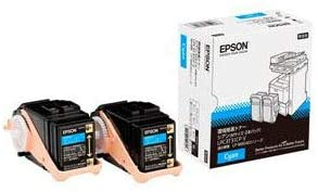 (メーカー純正)新品 EPSON LPC3T31CPV 環境推進トナー シアン Mサイズ 2本パック EP-TNLPC3T31CPVJ(送料無料)