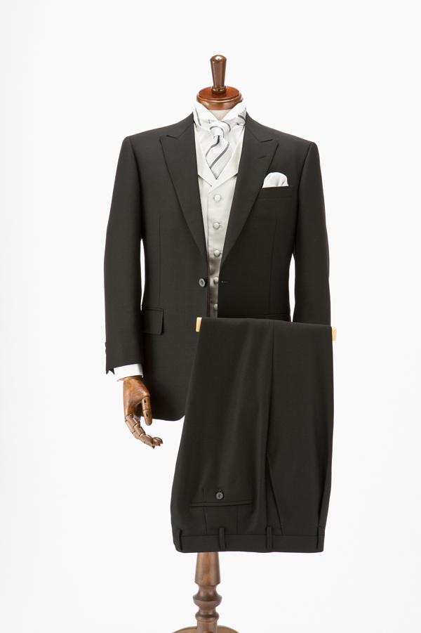 EXCYオーダーブラックスーツ(略礼服)