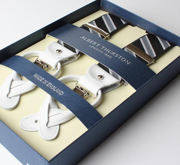 父の日や誕生日などギフトに最適!サスペンダー送料無料アルバートサーストンALBERT THURSTON サスペンダー メンズ ブランド