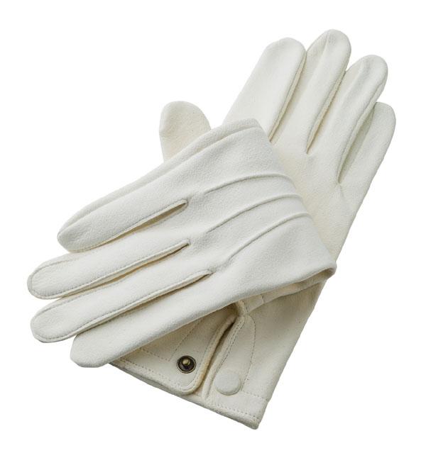 礼装用セーム革手袋 日本製