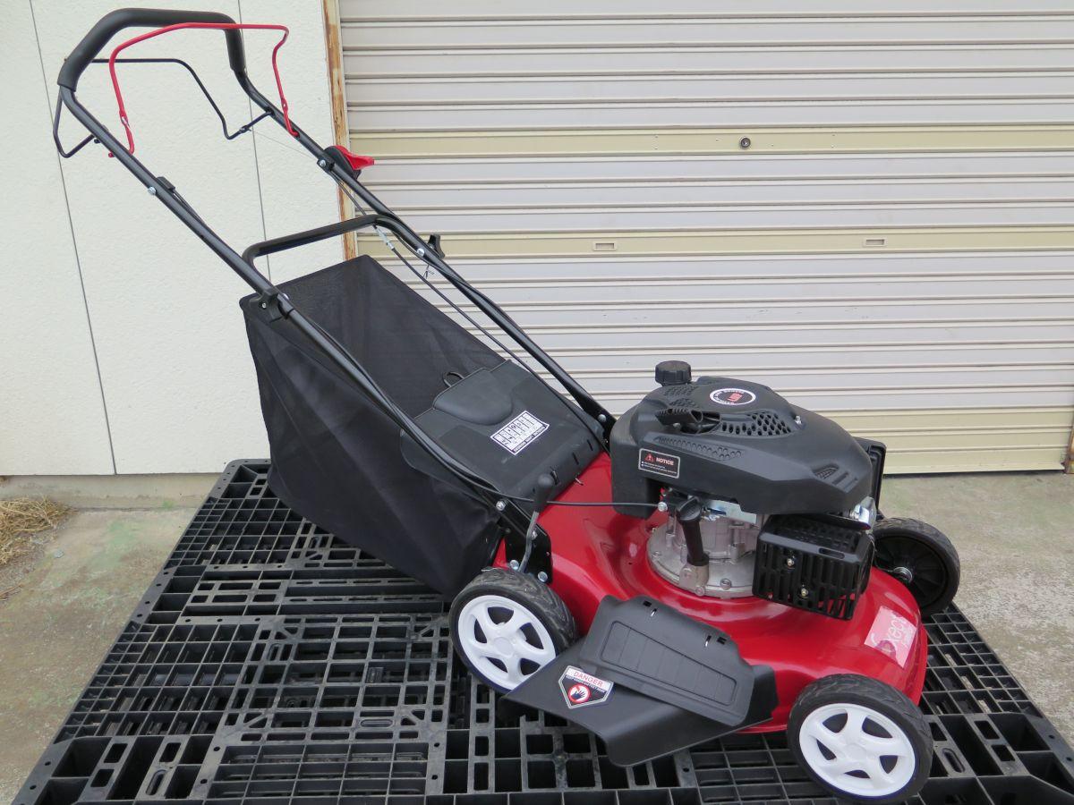 芝刈り機 エンジン 自走式 4馬力 4ストローク 139cc 90日保証 PL保険加入済み Exect familia