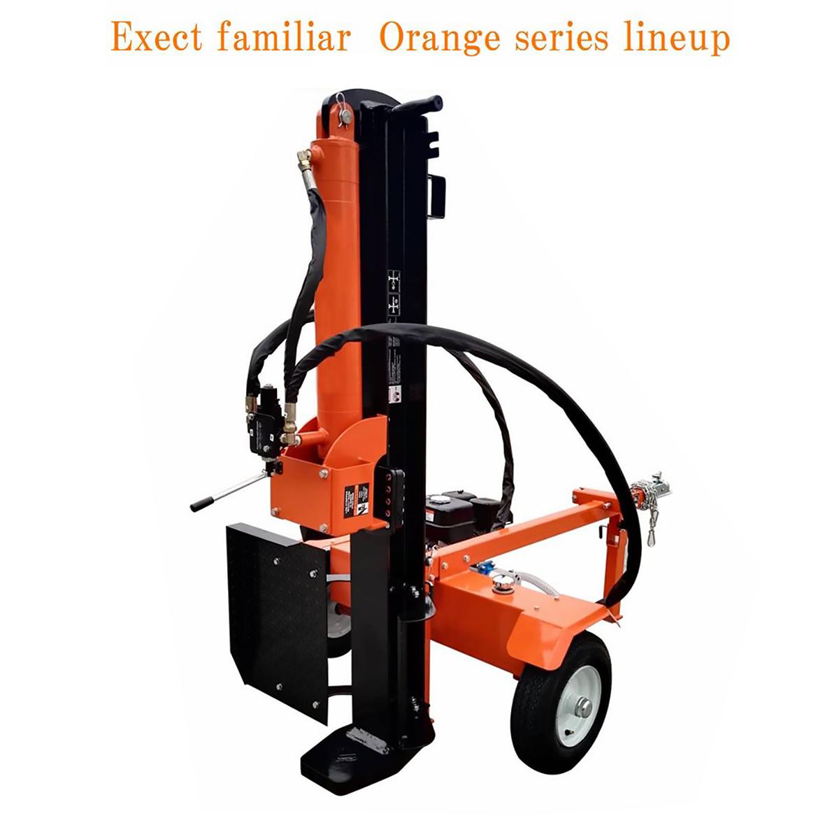 Exectfamiliar Orangeseries 2年間保証 エンジン薪割り機 27t 重量285kg OHV6.5馬力 最大油圧シリンダー