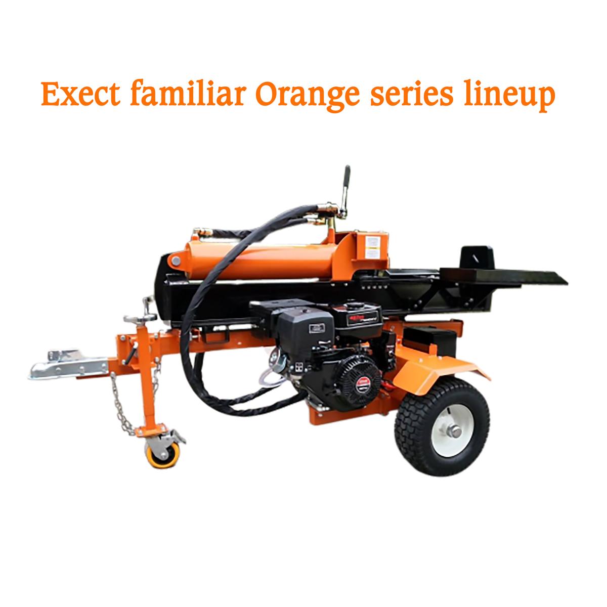 Exectfamiliar Orangeseries 2年間保証 エンジン薪割り機 50t 重量410kg OHV15馬力 最大油圧シリンダー