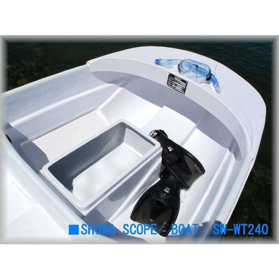 2分割式FRPボート 新型IKESU仕様 Exect EX250FRPI