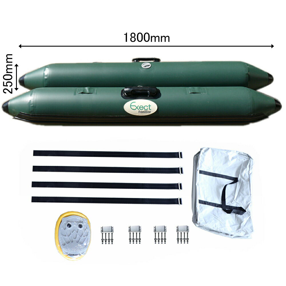 サイドフロート 左右セット Exect EX1800 ボート 釣り カヌー カヤック フィッシング