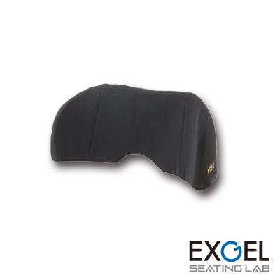 EXGEL エクスジェル バッククッション ロー タイプ BAC01-BK エクスジェル 車椅子 車いす クッション 座布団 ざぶとん 体圧 分散 褥瘡 予防 じょくそう 床ずれ 姿勢 保持 加地