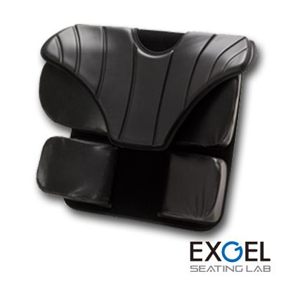 ジェルクッション 腰痛対策 低反発 EXGEL アウル サポート バック クッション OWLS-B01 エクスジェル 車椅子 車いす クッション 座布団 ざぶとん 体圧 分散 褥瘡 予防 じょくそう 床ずれ 姿勢 保持 加地
