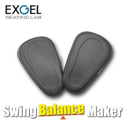 EXGEL スウィングバランスメーカー セパレートタイプ SBM01-BK エクスジェル 吉田一誉プロ監修 軸を鍛えるバランス強化パッド ゴルフ スイング バランス 上達 体幹 バランス 練習器具 ギフト包装無料 加地