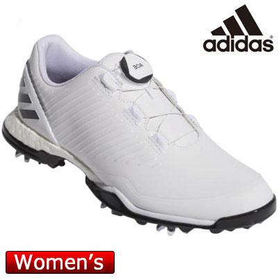 adidas(アディダス) アディパワー フォージド ボア BTF17 レディース ゴルフシューズ BB7841