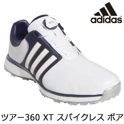 adidas(アディダス) ツアー360 XT スパイクレス ボア DBB80 メンズ ゴルフシューズ F34189