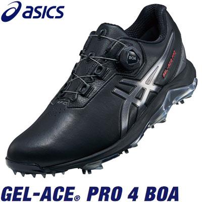 asics(アシックス) GEL-ACE PRO 4 BOA 1113A002 メンズ ゴルフシューズ ブラック/カーボン
