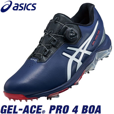 asics(アシックス) GEL-ACE PRO 4 BOA 1113A002 メンズ ゴルフシューズ ピーコート/ホワイト